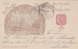 Portugal Entier Postal Illustré 1898 - Ganzsachen