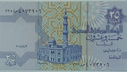 Egypt 25 Piasters 2004 UNC - Egypte