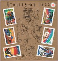 N° Yvert & Tellier 50 (Blocs Et Feuillets) - Grands Interprètes De Jazz (1) - Blocks & Kleinbögen