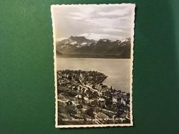 Cartolina Montreux - Vue Generale Et Dents Du Midi - 1928 - Cartes Postales