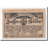 Billet, Autriche, Leonfelden O.Ö. Marktgemeinde, 10 Heller, Paysage, 1920 - Autriche
