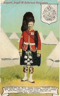 SERGEANT, Argyll & Sutherla Highlanders - Uniforms