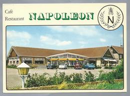 NL.- RIJSBERGEN. Gem. ZUNDERT. Café Restaurant Dancing - NAPOLEON -. Antwerpseweg 36. Old Cars. - Hotels & Restaurants