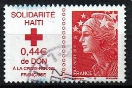 Croix Rouge N°4434 Oblitéré Année 2010 - France