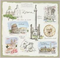 N° Yvert & Tellier 53 (Blocs Et Feuillets) - Capitales Européennes (Rome - Italie) (1) - Blocks & Kleinbögen
