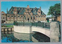 NL.- MIDDELBURG. Kloveniersdoelen. V/m Militair Hospitaal. Brug. - Middelburg