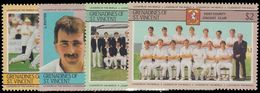 St Vincent Grenadines 1985 Cricketers (3rd Series) Unmounted Mint. - St.Vincent & Grenadines