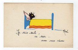 Jan19    83701    Je Suis Seiul Ce  Soir  Avec Mes Rêves     René - Künstlerkarten