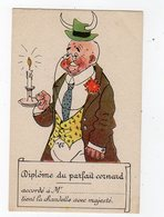 Jan19    83699   Diplôme Du Parfait Cornard - Künstlerkarten