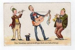 Jan19    83698     Trois Musiciens - Künstlerkarten