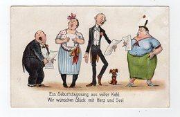 Jan19    83697     Quatres  Chanteurs - Künstlerkarten