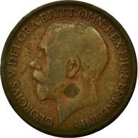 Monnaie, Grande-Bretagne, George V, Penny, 1919, TB, Bronze, KM:810 - 1902-1971 : Monnaies Post-Victoriennes