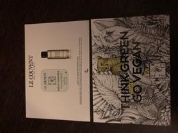 Couvent Des Minimes Carte A Patch - Perfume Cards