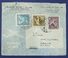 1944? Cover, Santiago Chile - Paris France - Chili
