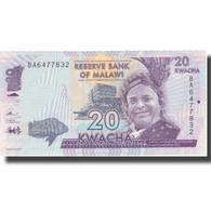 Billet, Malawi, 20 Kwacha, 2016, 2016-01-01, NEUF - Malawi