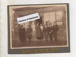 94 - VITRY SUR SEINE - JOURNAUX - LIBRAIRIE - PAPETERIE - CHEZ M. FERET - DEVANTURE - Vitry Sur Seine