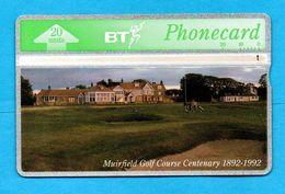 UNITED KINGDOM  Magnetic Phonecard  Landis & Gyr - GOLF - Sport