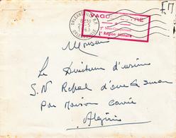 Algérie Env FM Orléanville 25/05/63 (aprés Indèp) - Algeria (1924-1962)