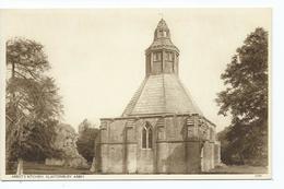 Postcard Glastonbury Abbot's Kitchen Unused - England