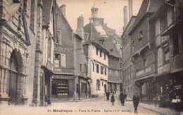 Dep 03 , Cpa MONTLUCON , 24 , Place St Pierre , Eglise (D09.401) - Montlucon