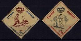 Kuba Cuba 1962 Sport - Baseball Pelota - MiNr 788 + 798 ** - Baseball