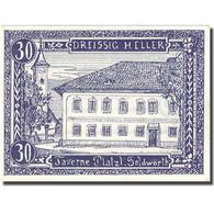 Billet, Autriche, Goldwörth, 30 Heller, Manoir, 1920, SPL - Autriche