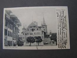 Büren An Der Aare Schloss 1906 - BE Bern
