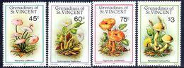 St Vincent Grenadines 1986 Fungi Unmounted Mint. - St.Vincent (1979-...)