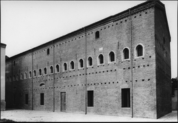CESENA 1960 : Biblioteca Malatestiana. Esterno – Matteo Nuti - Cesena