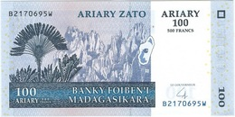 Madagascar 100 Ariary 2004 Pick 86b UNC - Madagascar