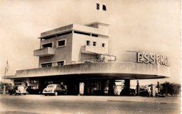 Cpa Brazzaville Station Service Barnier - Brazzaville