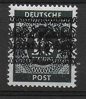 Deutschland Amerikanische Und Britische Zone 66I DD Doppelte Bandaufdruck Double Overprint Fehler Error - American/British Zone