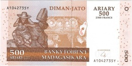 Madagascar 500 Ariary 2004 Pick 88b UNC - Madagascar