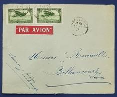1928? Cover, Casablanca Maroc - Boulogne Billancourt France, Morocco - Morocco (1891-1956)