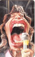 GERMANY(chip) - Semmel Verlach Karikaturen 3/Mick Jagger(K 245), Tirage 2000, 04/93, Mint - Allemagne