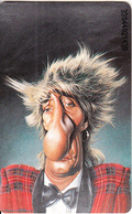 GERMANY(chip) - Semmel Verlach Karikaturen 2/Rod Stewart(K 244), Tirage 2000, 04/93, Mint - Allemagne