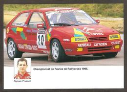 Sylvain POULARD Championnat De France De Rallycross 1995 , Réseau CITROËN Et TOTAL - Rallyes