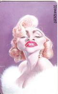 GERMANY(chip) - Semmel Verlach Karikaturen 1/Madonna(K 243), Tirage 2000, 04/93, Mint - Allemagne