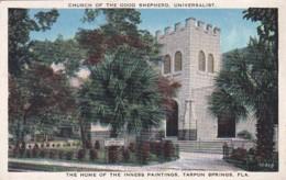 Florida Tarpon Springs Universalist Church Of The Good Shepherd Home Of The Innes Paintings - Etats-Unis