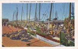 Florida Tarpon Springs The Sponge Docks - Etats-Unis