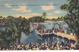 Florida Tarpon Springs Epiphany Ceremony Held Annualy On January 6th - Etats-Unis