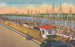 Florida Tarpon Springs The Sponge Fleet At The Docks - Etats-Unis