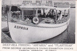 Florida Tarpon Springs Deep Sea Fishing Boats Aspasia And Plastiras - Etats-Unis