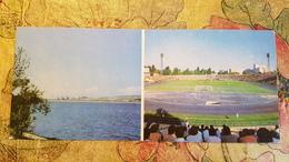 "Ukraine. Simferopol W  ""Lokomotiv"" STADION / STADIUM / STADE. Long Format 1970s - Stades"
