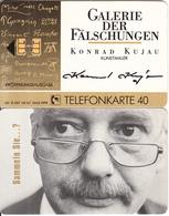 "GERMANY - Galerie Der Fälschungen/Konrad Kujau ""Selbstportrait""(O 097), Tirage 3000, 05/92, Mint - O-Series : Séries Client"