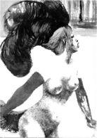 HANNA NAGEL   IM  KABARETT  -   Paris 22 - Künstlerkarten