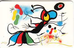 GERMANY(chip) - Galerie Der Fälschungen, Joan Miro/Insekt Im Wunderland(O 052), Tirage 3000, 07/93, Mint - O-Series : Séries Client
