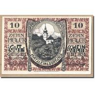 Billet, Autriche, MATZLEINSDORF, 10 Heller, Eglise, 1920, SPL, Mehl:FS 597 - Autriche