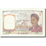 Billet, FRENCH INDO-CHINA, 1 Piastre, Undated (1932-1939), KM:54e, SUP - Indochine