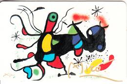 GERMANY(chip) - Galerie Der Fälschungen, Joan Miro/Torros Sieg(O 840), Tirage 3000, 04/93, Mint - O-Series : Séries Client